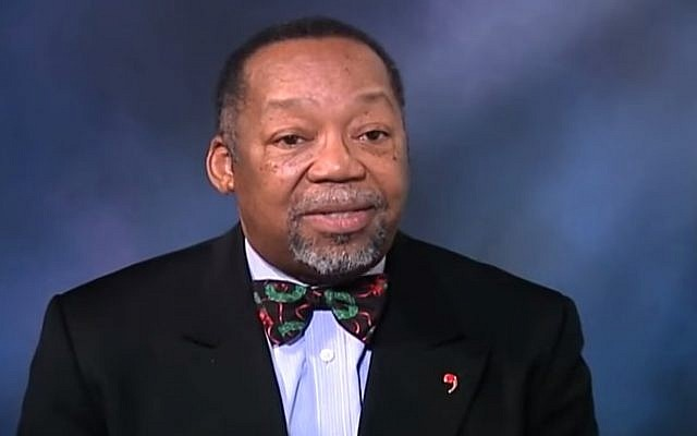 The Rev. Geoffrey A. Black, the General Minister and President of the United Church of Christ (YouTube screenshot)