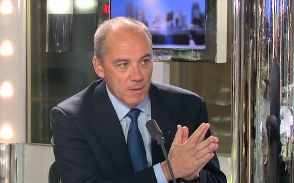 Orange CEO Stephane Richard (screen capture: YouTube)