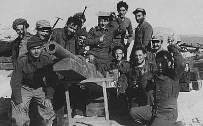 Foreign volunteers during Israel's War of Independence (JTA courtesy photo).