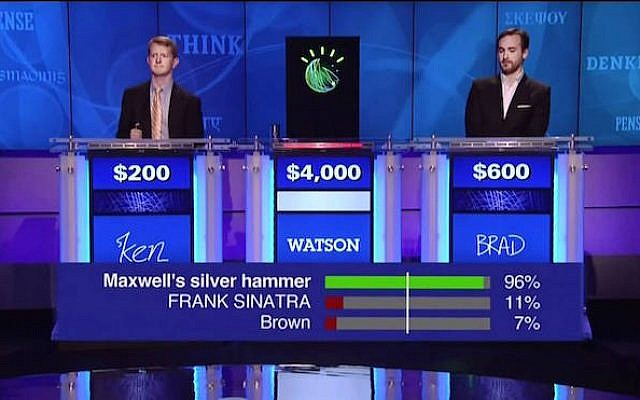 ibms watson competes on us tv show jeopardy january 11 2013 photo credit
