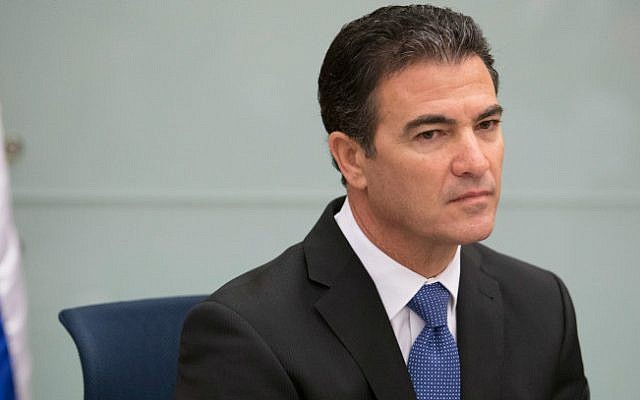 Yossi Cohen at the Knesset Foreign Affairs and Defense Committee on September 2, 2014 (Noam Revkin Fenton/ Flash 90)