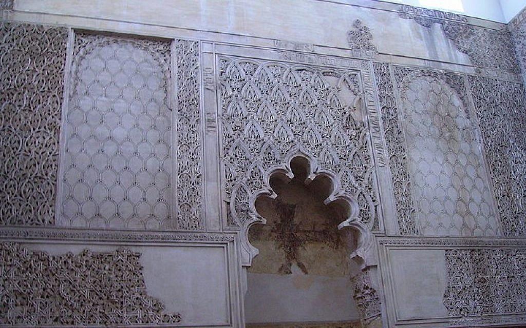 West wall of the Synagogue of Córdoba, in Córdoba, Spain. (CC BY-SA Américo Toledano/Wikipedia)