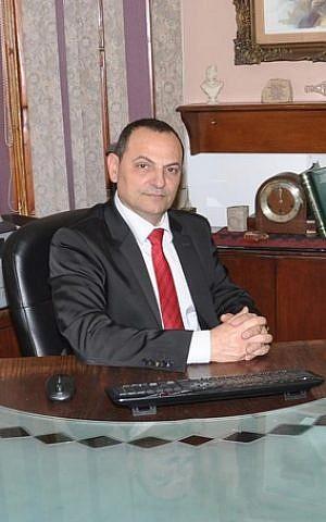 al-Midan Theater's CEO, Ghassan Abu Warda (Facebook)