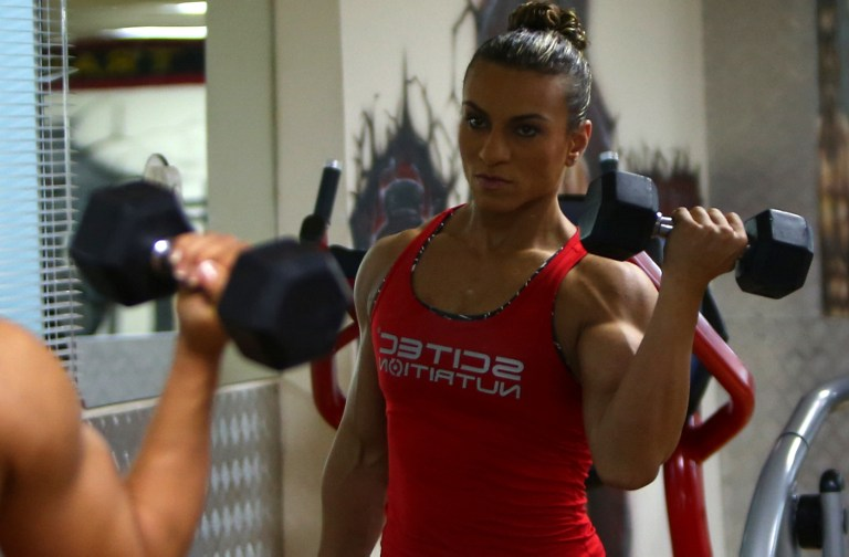 Arab female bodybuilder pushes against prejudice | The