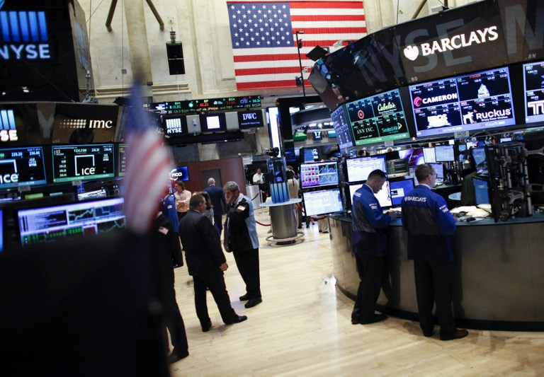 This June 17, 2015 File Photo Shows Traders On The Main Trading Floor The  New