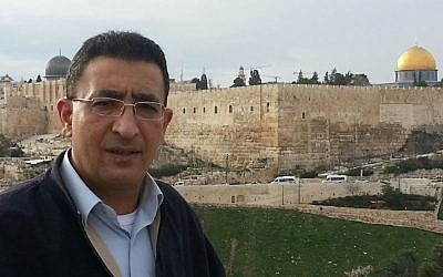 Former political adviser Mendi Safadi in Jerusalem (courtesy Mendi Safadi)