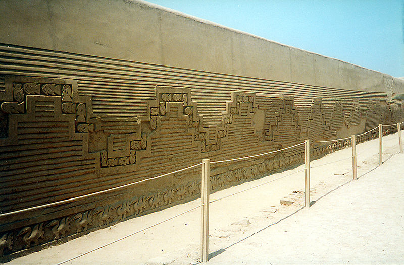 A wall at Peru's Chan Chan (Håkan Svensson / Wikipedia)