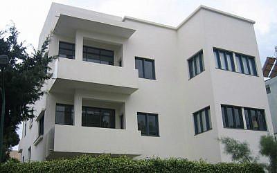 Tel Aviv Bauhaus Museum on the city's Bialik Street (Wikimedia/Talmoryair/CC 3.0)