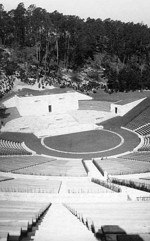 Berlin's Waldbühne amphitheater in 1939 (Bundesarchiv, B 145 Bild-P019137 / Frankl, A. / CC-BY-SA)