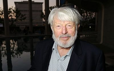 In this 2012 file photo, actor Theodore Bikel poses at the opening night performance of 'November' at the Center Theatre Group/Mark Taper Forum in Los Angeles. (Ryan Miller/Invision/AP, File)