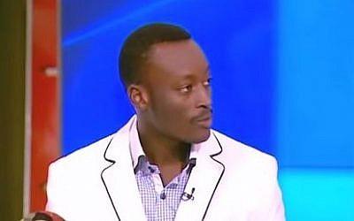 Mutasim Ali speaks to Channel 2 television. (YouTube screen capture, Gadi Dan)