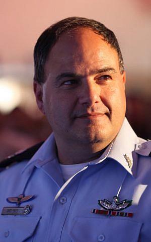 Acting Israel Police Chief Benzi Sau (Kobi Gieon/Flash90)