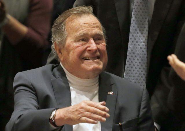 George bush raggar sponsorer