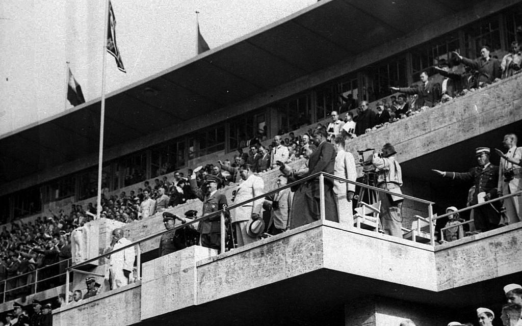1936 olympics opening ceremony