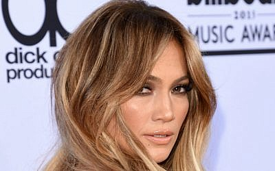 Jennifer Lopez in Las Vegas, Nevada, in 2015: As a musician, she performs under the name J-Lo. (Jason Merritt/Getty Images/JTA)