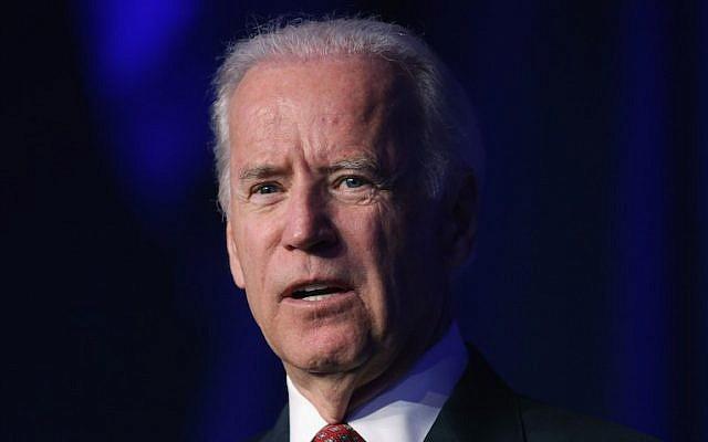US Vice President Joe Biden speaks in Washington on April 13, 2015. (Chip Somodevilla/Getty Images)
