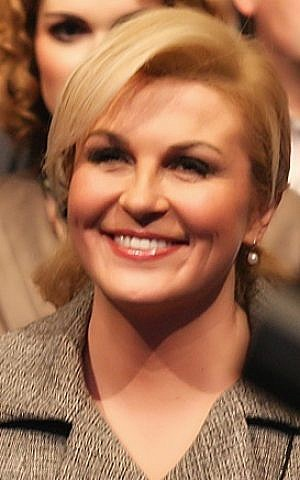 Croatian President Kolinda Grabar Kitarović. (CC BY-SA  SpeedyGonsales/Wikipedia)