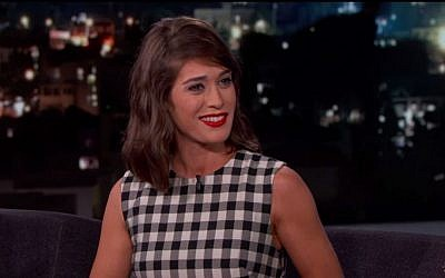 Jewish actor Lizzy Caplan has catapulted her career portraying legendary human sexuality pioneer Virginia Johnson. (YouTube screenshot)