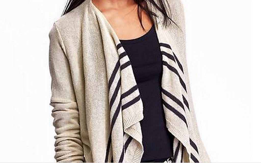 Looking For A Jewish Prayer Shawl Try Old Navy The Times Of Israel