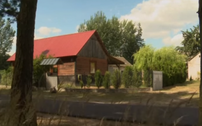 A hideout used by Jews escaping the Holocaust, which in July 2015 was declared a national monument by Poland. (YouTube screen capture/ReutersNewsHD)