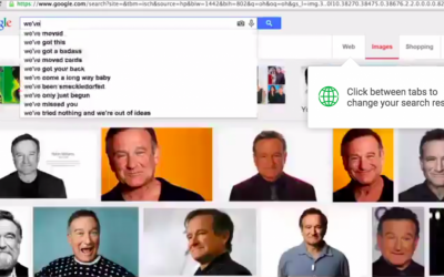 A screen grab of Cee Lo Green's 'Robin Williams' video by Israeli Vania Heymann (Courtesy screen grab)