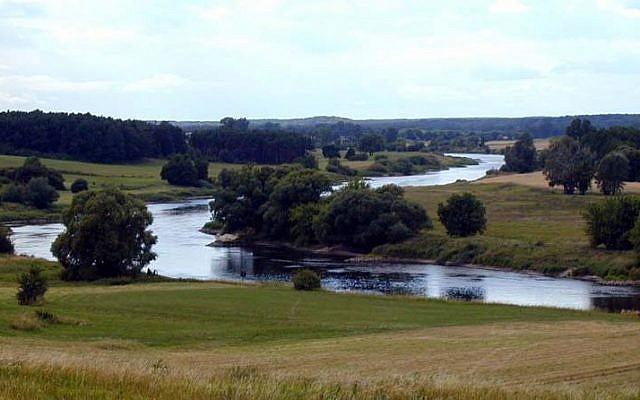The Warta River, Mstow, Silesia, Poland. (Wikimedia/CC BY-SA 3.0/:mzopw)
