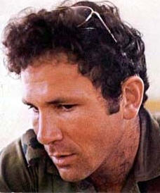 Yoni Netanyahu, in a photograph taken shortly before his death at Entebbe in 1976 (Wikipedia)