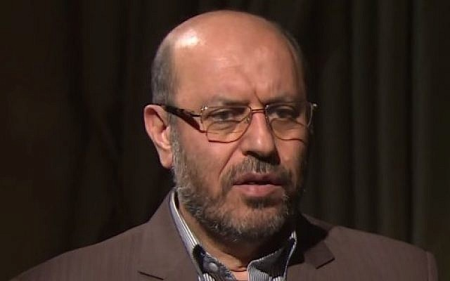 Iranian Defense Minister Hossein Dehghan. (YouTube screen capture)