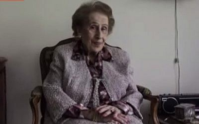 Irene Bergman, 99, has been invited to mark her 100th birthday next month by ringing the bell at the New York Stock Exchange (YouTube screen cap)