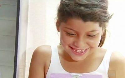 Chanel Efraimov of Sderot. (Screenshot/Channel 1)