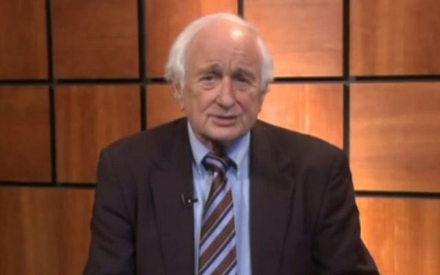 US House Representative Sander Levin. (screen grab: YouTube)