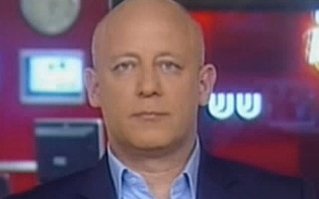 Lior Lotan speaking to Channel 2 television in 2011. (screen capture:Channel 2)