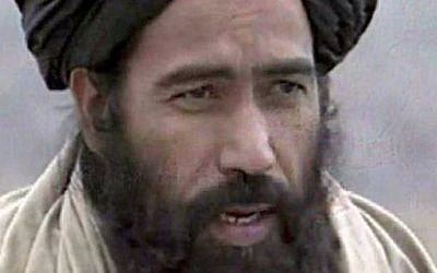 Afghan Taliban leader Mullah Omar, whose death was confirmed by the Taliban in July 2015. (YouTube/Oneindia News)