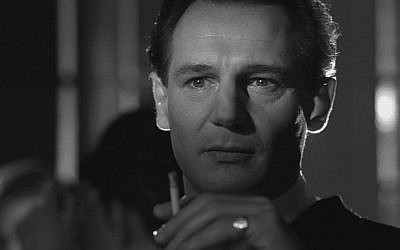 Liam Neeson as Oskar Schindler in the 1993 movie 'Schindler's List' (Screen capture)