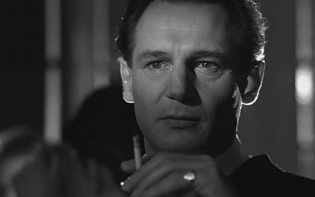 Liam Neeson as Oskar Schindler in the 1993 movie 'Schindler's List'  (Screen capture: Schindler's List)