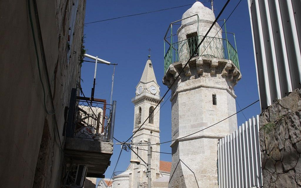 Church and monastery complex in Ramle (Shmuel Bar-Am)