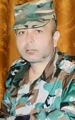 Syrian Air Force Intelligence Directorate head Maj. Gen. Nadeem Shallah (Twitter)