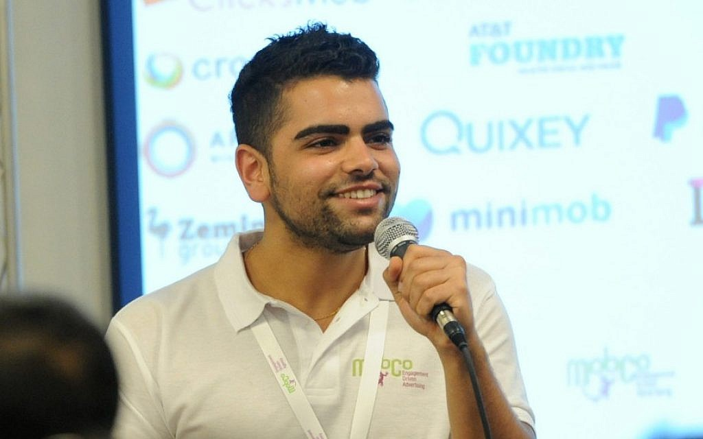 Israeli entrepreneur Tomer Hen is the founder of the mobile marketing company MobCo. (Tomer Hen/JTA)