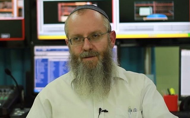 Safed Rabbi Ezra Sheinberg, accused of sexual crimes against several women. (YouTube screen capture)