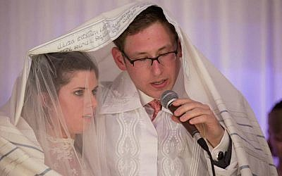 A wedding in accordance with the ways of Moses and Israel, but not with the ways of the Rabbinate (photo: courtesy)