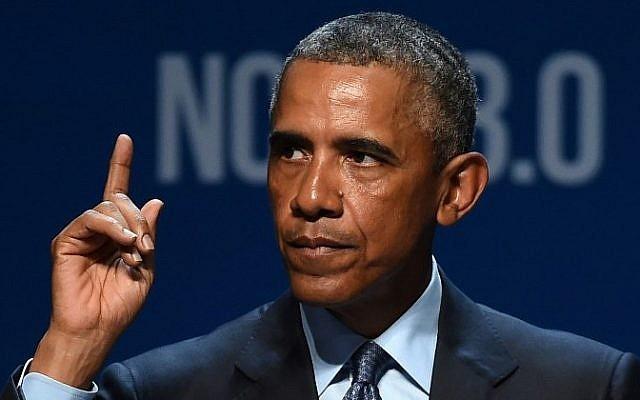 US President Barack Obama in Las Vegas, Nevada on August 24, 2015. (Ethan Miller/Getty Images/AFP)