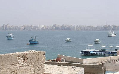 A view of Alexandria, along Egypt's Mediterranean coast (CC BY Vyacheslav Argenberg/Flickr)
