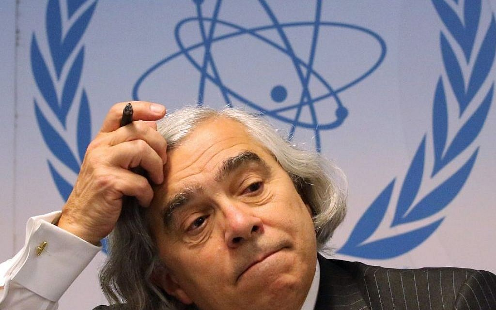In this Sept. 22, 2014, file photo, US Secretary of Energy Ernest Moniz addresses the media during the general conference of the International Atomic Energy Agency, IAEA, at the International Center in Vienna, Austria. (AP Photo/Ronald Zak, File)