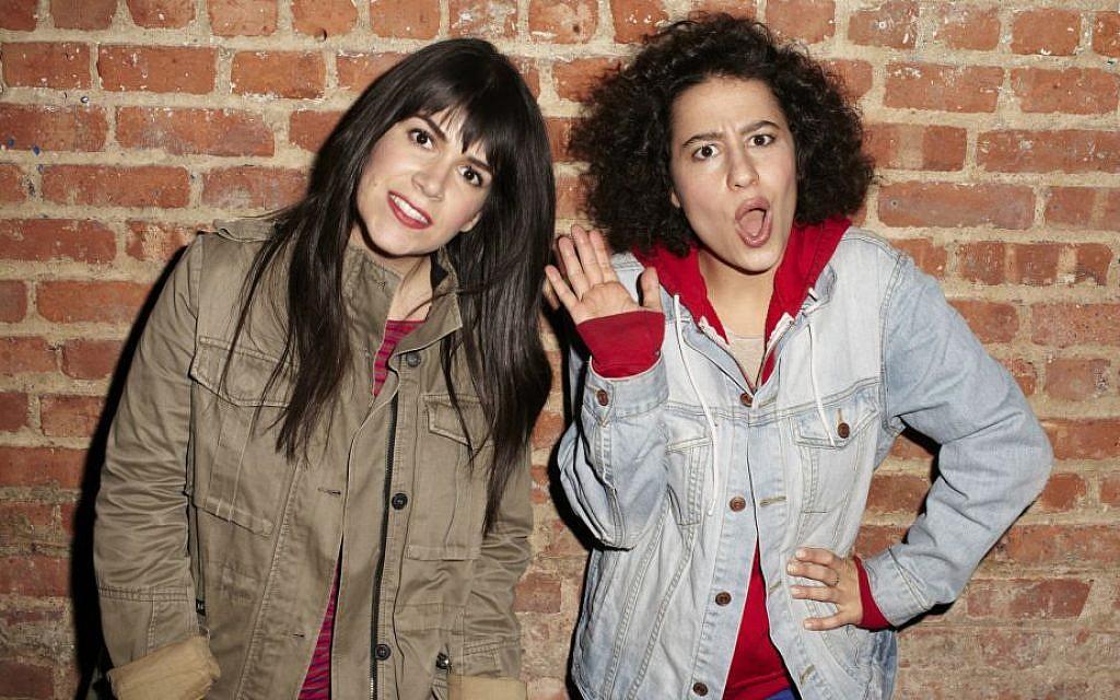 Abbi Jacobson (left) and Ilana Glazer, the co-creators of 'Broad City.' (courtesy)