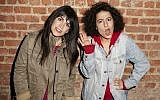 Abbi Jacobson (left) and Ilana Glazer, the co-creators of 'Broad City.' (courtesy)