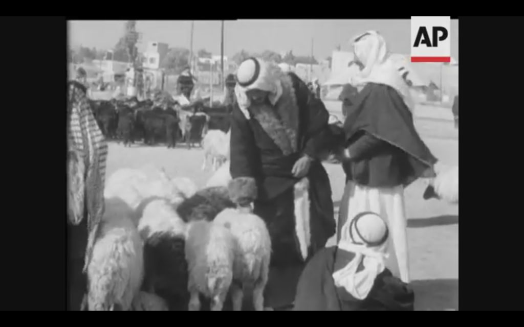 WATCH: Wives for sale in 1950s Bedouin market