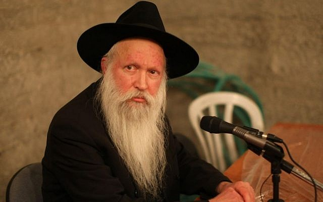 Rabbi Yitzchak Ginsburgh. (Kobi Gideon/ FLASH90)