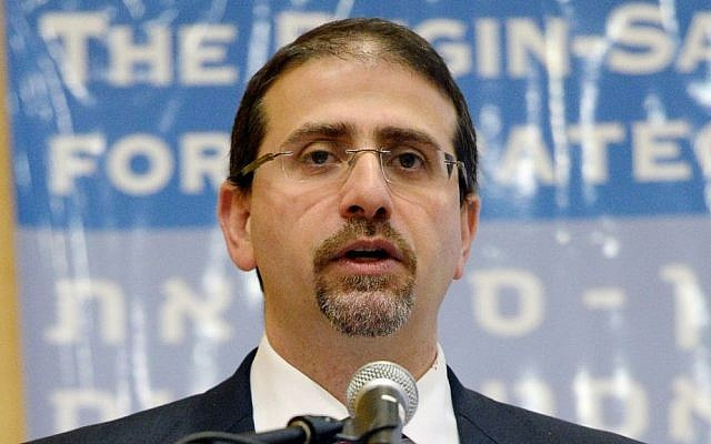 US Ambassador to Israel Daniel Shapiro, December 9, 2014. (Matty Stern/US Embassy)