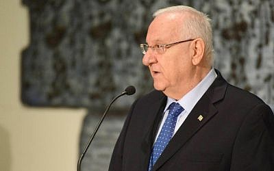 President Reuven Rivlin on July 5, 2015. (Mark Neyman/GPO/Flash90)