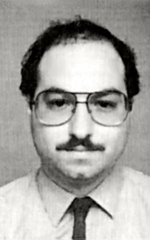 Jonathan Pollard, U.S. Navy I.D. picture (Wikipedia)